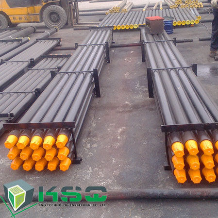 Forging API Drill Pipe With 4 Wrench Flat on Both Connection , 3000mm Length