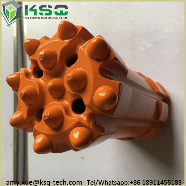 Tungsten Carbide Inserts Top Hammer Drilling Tools Retractable Drill Bit for Hard Rock Drilling